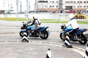 マツダドライビングスクール青森 自動二輪免許 バイク