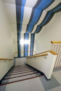 マツダドライビングスクール 階段